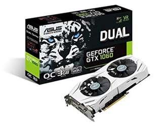 Asus gtx 1060 3gb OC edition