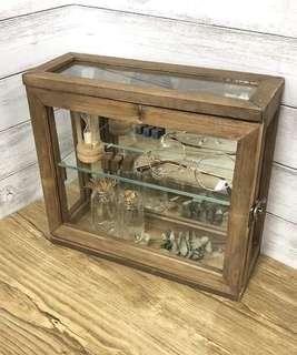簡單雜貨-復古做舊迷你造型骨董櫃/收納櫃