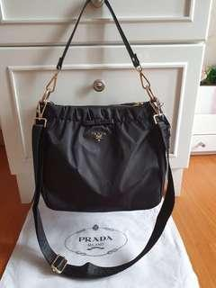 Prada authentic bow sling bag counter vip gift