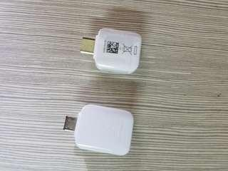 Samsung otg adapter, android or type C
