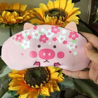 🚚 pig eye mask with gel pad inside