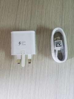 Samsung fast Charger and type C cable