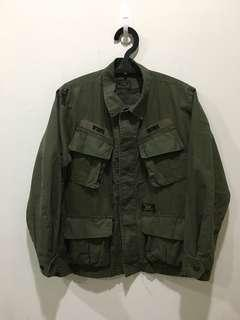 🚚 WTAPS 16AW JUNGLE LS SHIRT 軍裝襯衫 軍綠 S號