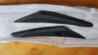 Mazda 3 AXELA 改装 Knight Sports款碳纖灯眉