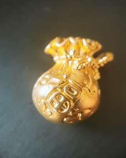 🚚 999 gold money pouch