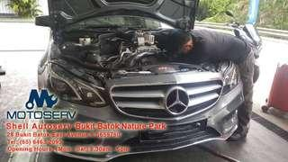 * Save Cost * Mercedes Benz W212/ W213 (E200/E250)  ORIGINAL PARTS ENGINE MONTING WITH INSTALLATION