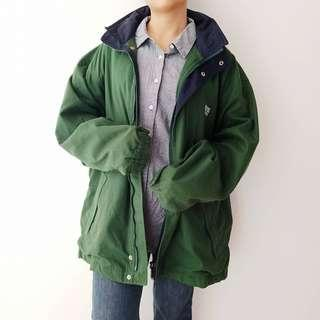 Thrift Big Green Jacket