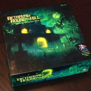 🚚 Betrayal at House on the Hill Board Game