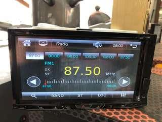Ocean Car Audio Player 6.95""