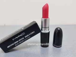 New!MAC Impassioned Amplified lipstick, RRP$36, FREE TRACKED POSTAGE
