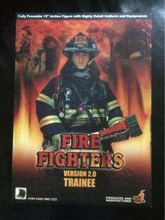 Hottoys 美國 消防員 Fire fighter 2.0 12寸figure 1/6 浴火英雄 馮力士