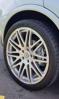 DPE MT-10 Monobloc FORGED Wheels USA(Genuine) 22 Inch with tires