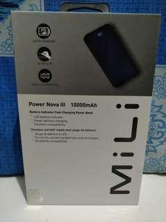 Mili powerbank Nova III 10000 MAH