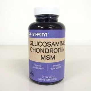 MRM, Glucosamine Chondroitin MSM, 90 Capsules + Free Postage