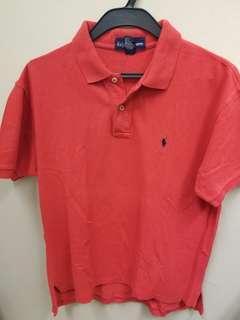 Ralph Lauren red  Polo Shirt 衫