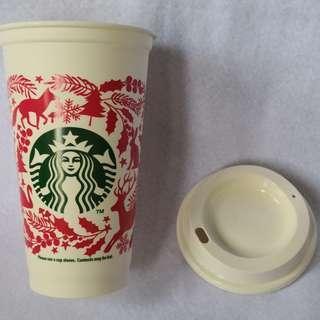 Starbucks Christmas 2017 Reusable Cup