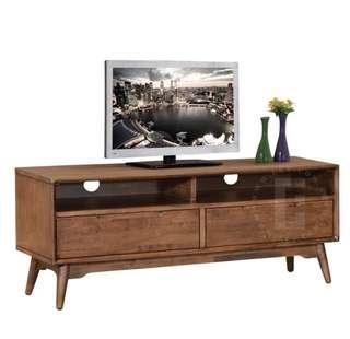 Solid Wood  4ft TV Console