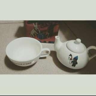 麗莎和卡斯柏茶具組