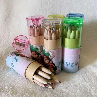 ✔️customize colour pencils for goodies box / bag  - Moana