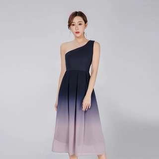 Zara Inspired Gradient Toga Dress #SnapEndGame