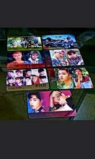 Set 7 Pcs Photocard Transparan Kpop EXO - Korea Product