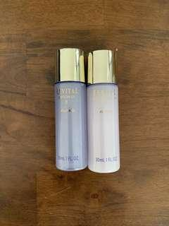 2019 New! Shiseido recital moisturizer EX 30ml+lotion EX 30ml SET