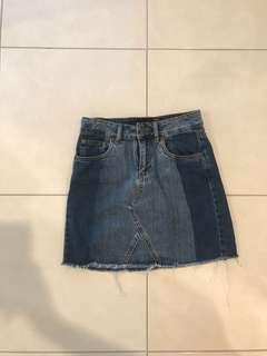 Factorie denim skirt size 6