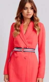 Kookai Red ribbon Playsuit