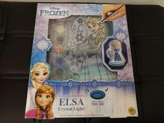 Frozen Elsa crystal light