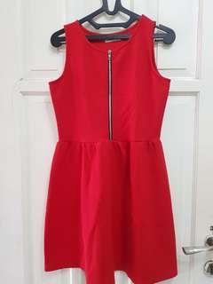 RED Dress ( anak remaja )