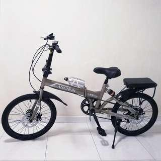 SALE Foldable Bicycle Shimano 7 Adjustible Gears & Suspension (with accessories) HIGHLY SPACE SAVING BIKE!