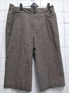 代賣古著老爺褲 前後都有口袋 內外二顆扣子 腰量42 褲長68
