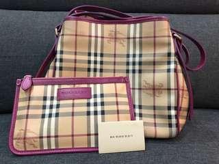 Burberry Haymarket Check Canterbury  Tote Bag