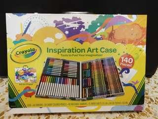 🚚 Crayola 140pcs Inspiration Art Case