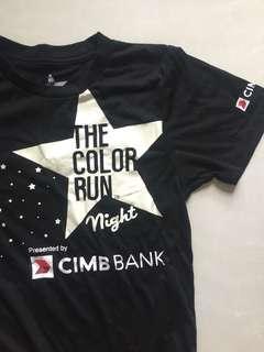 the color run night tee
