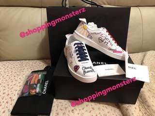 Chanel x Pharrell Williams sneakers 38.5 limited new cc 全套有單