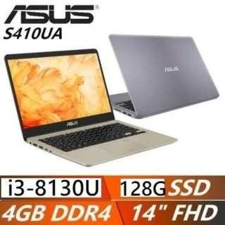 ASUS S410UA-0191 i3 8150 4G 128G 金屬灰