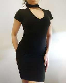 Cotton On Little Black Bodycon Dress