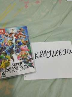 Super Smash Bros Ultimate for sale