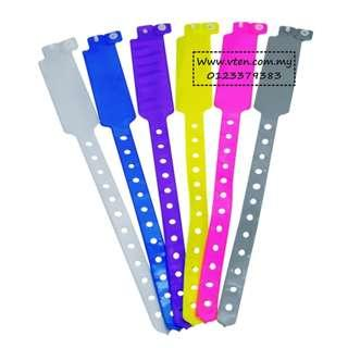 [Pre Order] Custom made PVC Wristband Bracelet For Event Party With Customized Logo (Not Real Price)