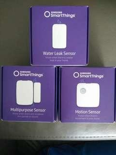 Brand New SAMSUNG SmartThings Motion / Multipurpose & Water Leak Smart Sensors