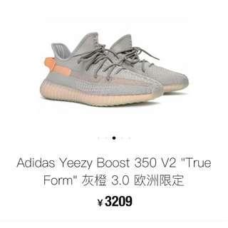 Adidas Yeezy Boost 350V2 true from