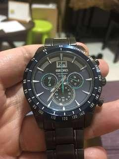 Seiko chronograph quartz watch