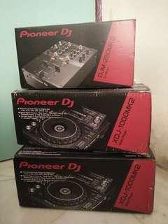 Pioneer dj xdj1000mk2+djm 250mk1