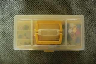 Tool box (Kotak Peralatan) dgn bonus Bey Blade