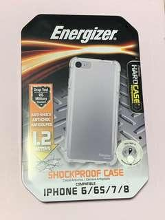 Energizer shockproof case (iPhone 8 / 7 / 6S / 6) anti-shock 1.2 metres hard case US military standard