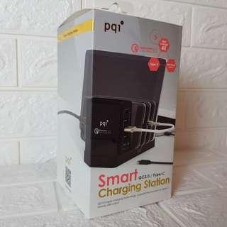 🚚 出清!!!全新保固PQI 電源供應基座 USB TYPEC QC3.0