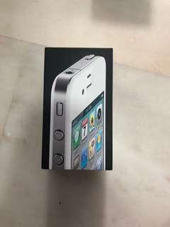 🚚 ORIGINAL iPhone 4 Box (White) (16GB)