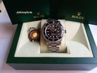 勞力士Rolex 16600 sea-dweller F頭紙888