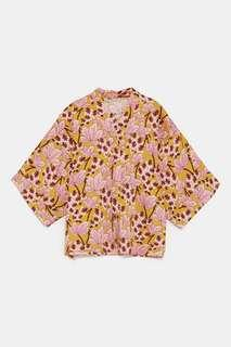 BNWT Zara Floral Oversized Blouse